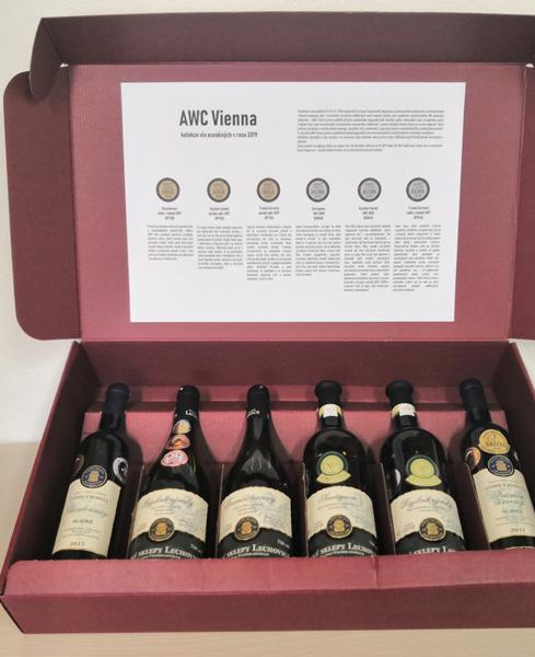 AWC Vienna 2019 – dárková sada vín