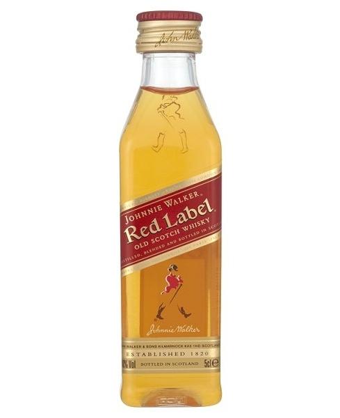 Johnnie Walker Red Label 0,05 l