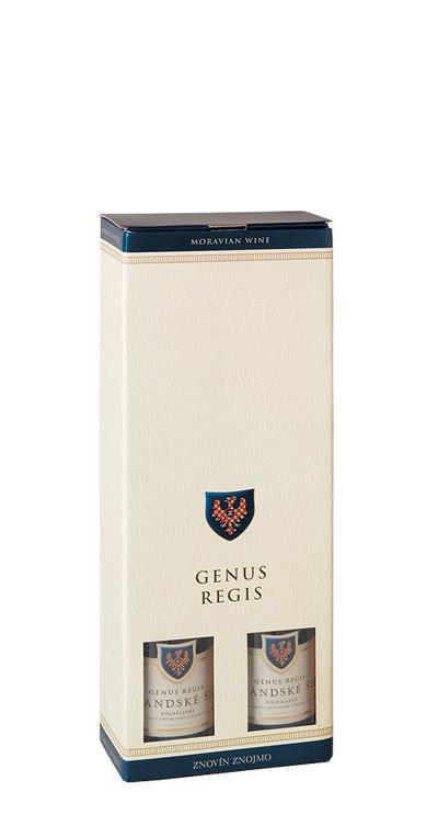 Papírový nosič Genus Regis 2 x 0,5 l