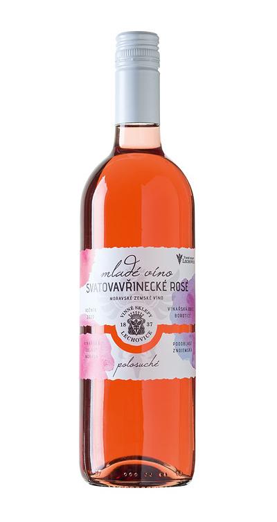 Svatovavřinecké Rosé – Mladé víno