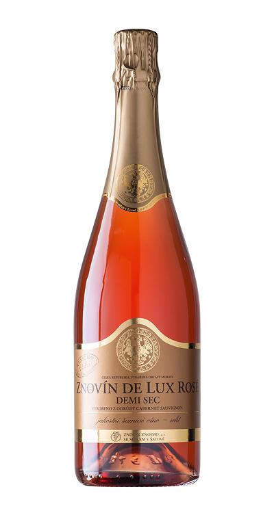 Znovín De Lux Rosé Demi sec
