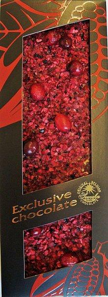 Exclusive Chocolate Mléčná – KLIKVA (kanadská brusinka)
