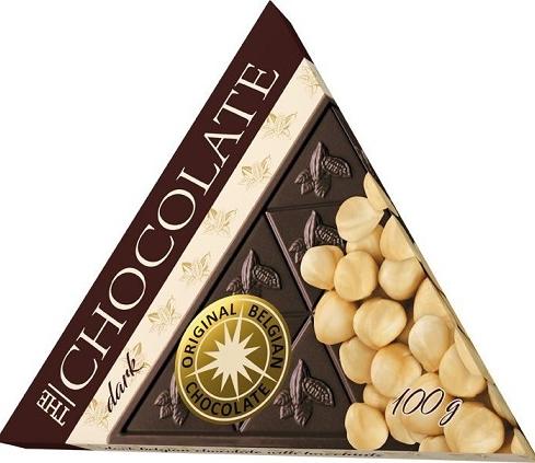 Original Belgian Chocolate Hořká – LÍSKOVÉ OŘÍŠKY