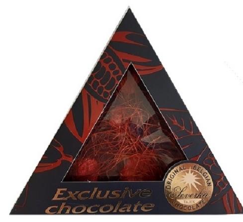 Exclusive Chocolate Hořká – CHILLI NITĚ & JAHODY