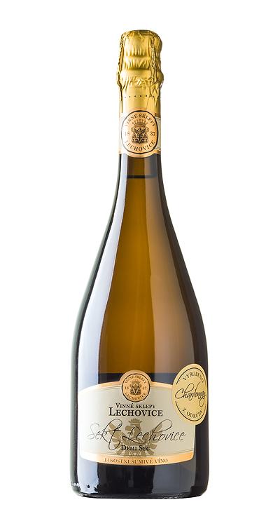 Sekt Lechovice Demi Sec Chardonnay